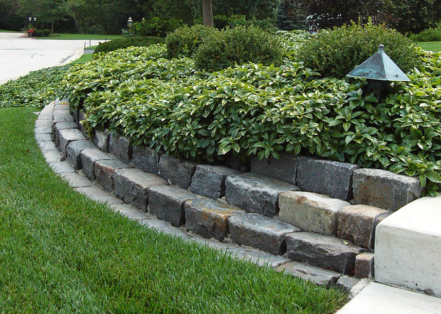 Decorative landscape edging for Decorative stone garden border